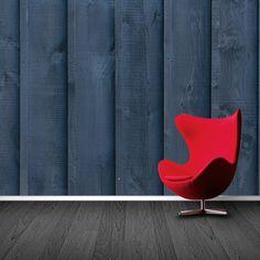 Fotobehang Donkerblauw hout | Maak het jezelf eenvoudig en bestel fotobehang voorzien van een lijmlaag bij YouPri om zo gemakkelijk jouw woonruimte een nieuwe stijl te geven. Voor het behangen heb je alleen water nodig!   #behang #fotobehang #print #opdruk #afbeelding #diy #behangen #hout #houten #plank #planken #blauw