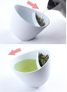 The Tea-Strainer Cup, $25 | 28 Practical Yet Clever Gifts That Are Anything But Lame - http://AmericasMall.com/