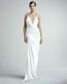 Donna Karan Superfine Jersey Gown as seen on Kim Kardashian