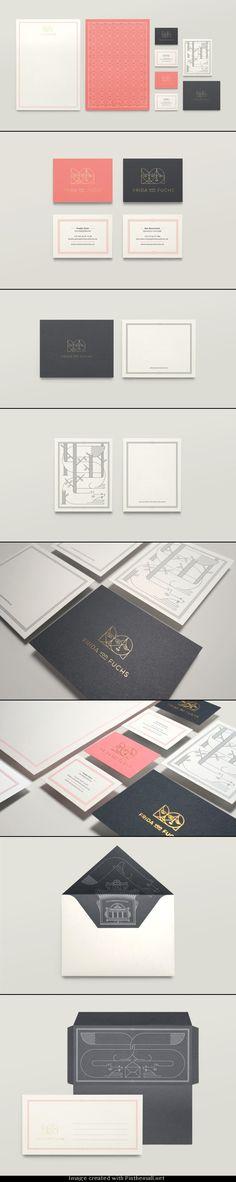 Corporate Identity for Frida von Fuchs – a Berlin-based design agency ||by Jonathan Garrett
