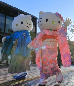 Sanrio Parks: Hello Kitty & Dear Daniel:) new year day !