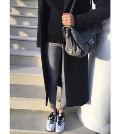 @xenia wearing the #HOGAN H283 Maxi Platform #sneakers with contrasting details. Join the #HoganClub #lifestyle and share with us your @hoganbrand pictures on Instagram. by hoganbrand