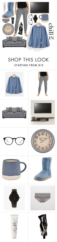 """""""Raechel"""" by goingdigi on Polyvore featuring Prada, Cooper Classics, Joules, UGG Australia, The Horse, Aerie, too cool for school and Aesop"""