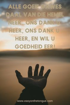 Alle goeie gawes daal van die hemel neer #afrikaans #gawes Cheer Up Quotes, Jesus Christ Quotes, Afrikaanse Quotes, Goeie More, Good Morning Inspirational Quotes, My Wish For You, Motivational Posts, Peace Quotes, Wishes For You