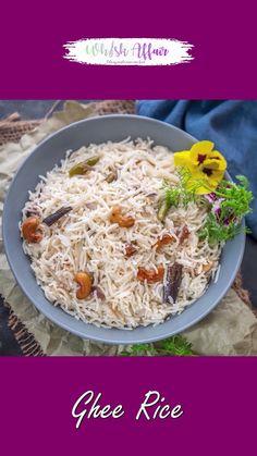 Easy Rice Recipes, Tasty Vegetarian Recipes, Spicy Recipes, Curry Recipes, Indian Veg Recipes, Pakistani Rice Recipes, Ghee Rice Recipe, Sabudana Recipes, Maggi Recipes
