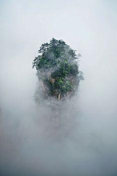 "Montañas Tianzi (China), la montañas de la película ""Avatar"""
