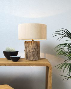 LOG | In the Nature Design laboratory nature turns into a unique and unrepeatable design piece of furniture, example of it is Log, the lamp with a brushed wood trunk as a base.  #madeinitaly #design #artigiani #interiordesign #artisans #italian #interiordetails #homedesign #homestlye #wood #artists #interiordecor