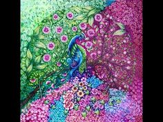 DAGDRÖMMAR (DAYDREAMS) Coloring Book by Hanna Karlzon - All Pages - YouTube