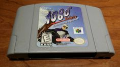 1080 ten eighty snowboarding n64 video game,  1080 snowboarding Nintendo 64 game, 1080 n64 - pinned by pin4etsy.com