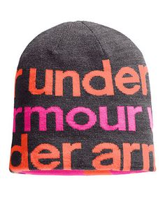 Under Armour® Carbon Heather Switch It Up II Reversible Beanie 071dcf2fcb1