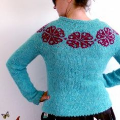 Brynja from Hélène Magnússon of the Icelandic Knitter Ravelry, Sweaters For Women, Men Sweater, Knit Sweaters, Cardigans, Art Du Fil, Fair Isle Knitting, Knitting Room, Textiles