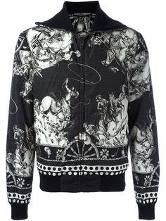 Dolce & Gabbana cowboy print jacket