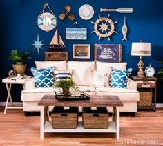 Natural jute can add the perfect nautical touch to your decor!
