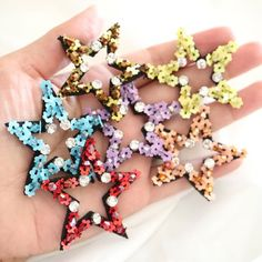 Shiny sequins crown iron on clothes patch garment accessory for DIY applique KA