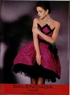 Balenciaga spring 1988