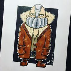 "Neil Hartley on Instagram: ""My version of Tom Hardys Bane from The Dark Knight Rises . . . #dccomics #dcuniverse #dcart #dcfanart #comicart #fanart #thedarkknight…"" Copic Art, The Dark Knight Rises, Bane, Dc Universe, The Darkest, Dc Comics, Toms, Fanart, Artwork"