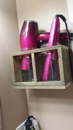 Hair Dryer   Bathroom Storage For Blow Dryer   Diy Hair Salon   Pinterest   Bathroom  Storage, Dryer And Storage
