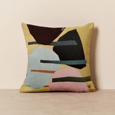 Pillow Mat, Cushion Pillow, Modern Cushions, Room Tapestry, Jacquard Loom, Creating A Brand, Saturated Color, Cushion Covers, Contemporary Style