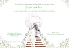Please vote for this entry in Wedding Design-Off! Wedding invitation by Mercedes JTB