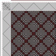Drawdown Image: Plate 63, No. 7, Neues Build-und Muster-Buch zur Beforderung der Edlen Leinen-und Bild-Weberkunst, Johann Michael Kirschbaum, 16S, 16T