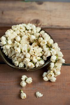 Unquestionably one of our favourite scents of all time: fresh jasmine blossoms.