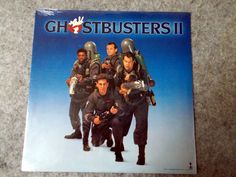 Ghostbusters II. Still Sealed! 1989 MCA Records vintage vinyl LP 33 record album. Run D.M.C, James Taylor, Elton John, Oingo Boingo by AbqArtistry on Etsy