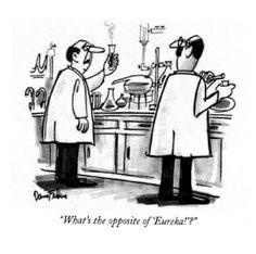 Good New Yorker Cartoons: Innovation Biology Jokes, Chemistry Humor, Grammar Humor, Chemistry Teacher, Teacher Memes, Lab Humor, Nerd Humor, Science Puns, Science Comics
