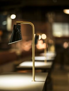 RUBN - Crafted in Sweden built by hand Bar Interior Design, Cafe Design, Interior Styling, Interior Lighting, Lighting Design, Hanging Lights, Wall Lights, Lobby Design, Desk Lamp