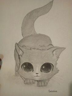 Chat dessin