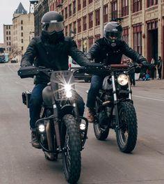 rankxerox:  nostalgia_memoirTBT cruisin #motorcycles #caferacer #motos | caferacerpasion.com