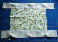 Making mitered corners doesnt' hjave to be hard.Start with a small application to gain confidence in making excellent mitered corners every time! Quilting Tips, Quilting Tutorials, Machine Quilting, Quilting Projects, Sewing Tutorials, Sewing Mitered Corners, Quilt Corners, Mug Rug Patterns, Quilt Patterns