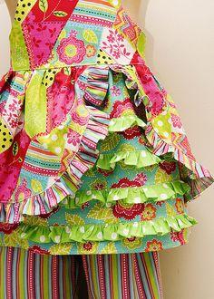 Tutorial sewing ruffles