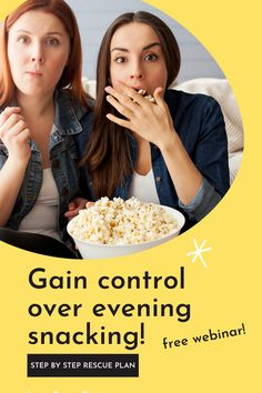 No bandaid solutions here! Discover the root cause of evening overeating so that you can relax and enjoy your evenings (with some snacks!) without fear that you'll lose control and overeat. Stop Eating, Eating Well, Non Perishable Foods, Smart Nutrition, Bread Alternatives, Different Diets, Quick Easy Desserts, Evening Snacks, Registered Dietitian