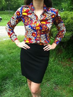 32043579ace Items similar to Vintage 1960 s Psychedelic Aztec Blouse on Etsy