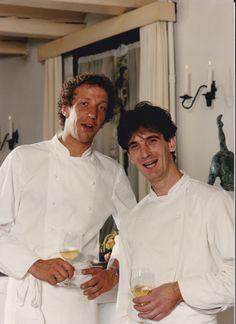 samen met René