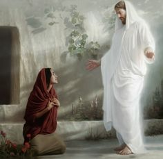 He is RISEN indeed! Thank You Father God for our Lord and Savior Jesus Christ, and your Holy Spirit Comfort & Peace! What Did Jesus Do, Mary Magdalene And Jesus, Pictures Of Christ, Lds Art, Biblical Art, Jesus Lives, Latter Day Saints, Religious Art, Savior