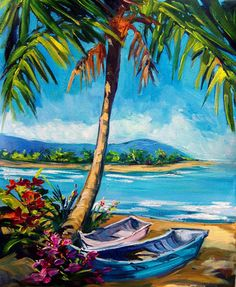 PALM SHADE by Steve Barton #art #hawaii