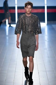 Damir Doma Spring 2014 Menswear Collection Slideshow on Style.com
