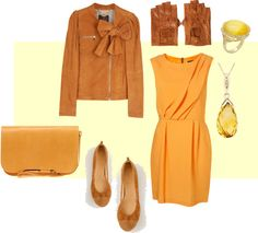 """""""Camel/Apricot - Spring"""" by goldkehlchen on Polyvore"""