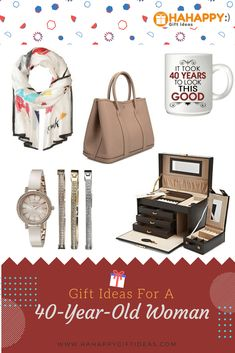 17 Gift Ideas For A 40 Year Old Woman 40th Birthday Women List
