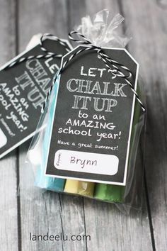 End of the year school gifts for kids to give to their friends - FREE PRINTABLE - landeelu.com