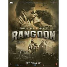 And the war begins! Presenting the first look poster of 'Rangoon' starring Shahid Kapoor Kangana Ranaut and Saif Ali Khan. Directed by Vishal Bhardwaj. Releasing on 24th Feb 2017.  #Rangoon #ShahidKapoor #KanganaRanaut #SaifAliKhan #VishalBhardwaj #firstlook #poster #movieposter #firstlook #movie #film #celebrity #bollywood #bollywoodactress #bollywoodactor #bollywoodmovie #actor #actress #filmywave
