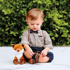Sweet style for your little fellow.