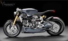 Gannet Design's 1199 Panigale Cafe Racer concept