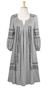 Fall dress, folk, $54.95