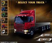 3D Vrachtwagen Spel