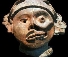 Tlatilco life-death mask* azteque
