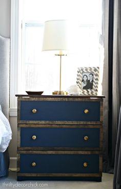 Finally! A beautiful nightstand makeover.