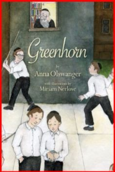 Greenhorn Kindle Edition by Anna Olswanger  In Anna Olswanger's Greenhorn, a young Holocaust survivor arrives at a New York yeshiva in 1946 where he will study and live. His only possession is a small box that he never lets out of his sight. Daniel, the young survivor, rarely talks, but the narrator, a stutterer who bears the taunts of the other boys, comes to consider Daniel his friend.  #kindle #childrensbooks #childrensebook