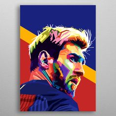 is an Argentine professional footballer who plays as a forward and captains both Spanish club Barcelona and the Argentina national team. Lionel Messi, Messi 10, Messi Drawing, Messi Poster, Messi Pictures, Pop Art Drawing, Pop Art Posters, Pop Art Illustration, Pop Art Portraits